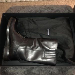 Dolce&Gabbana Men's Military Style Boots